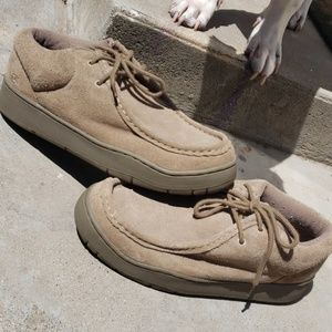 Sketchers Laced Moccasin leather uppers size 10.5
